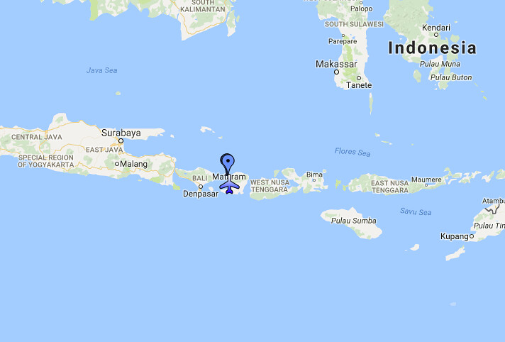 Gili-saaret kartta