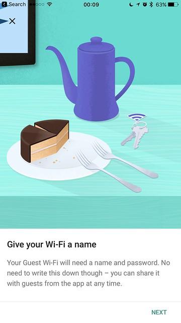 Google Wifi - iOS App - Guest Wi-Fi #1