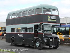 WLT 655 AEC Routemaster - Confidence Bus & Coach Hire Ltd. 15 (ex- London Transport RM 655)