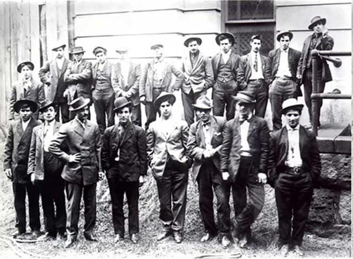 Members of the Five Points Gang of New York City