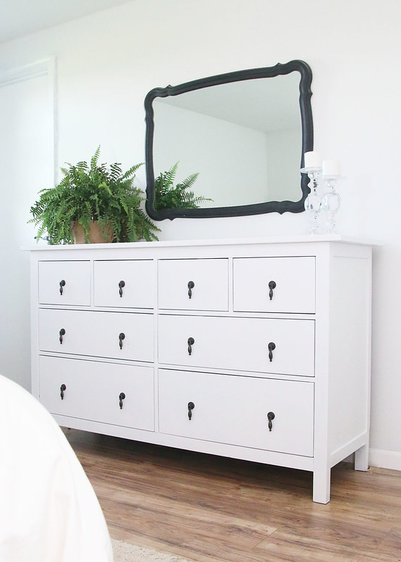 Ikea Dresser Painted White