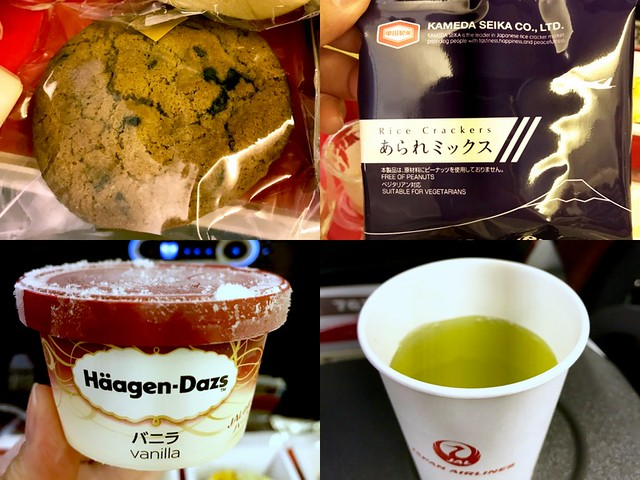 Japan Airlines economy meal-001