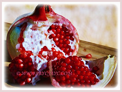 Number of seeds in Punica granatum (Pomegranate, Buah Delima in Malay) can vary from 200 to more than 1,000, 23 Aug 2017