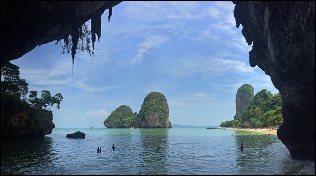 Cave and Beach, Phra Nang, Krabi
