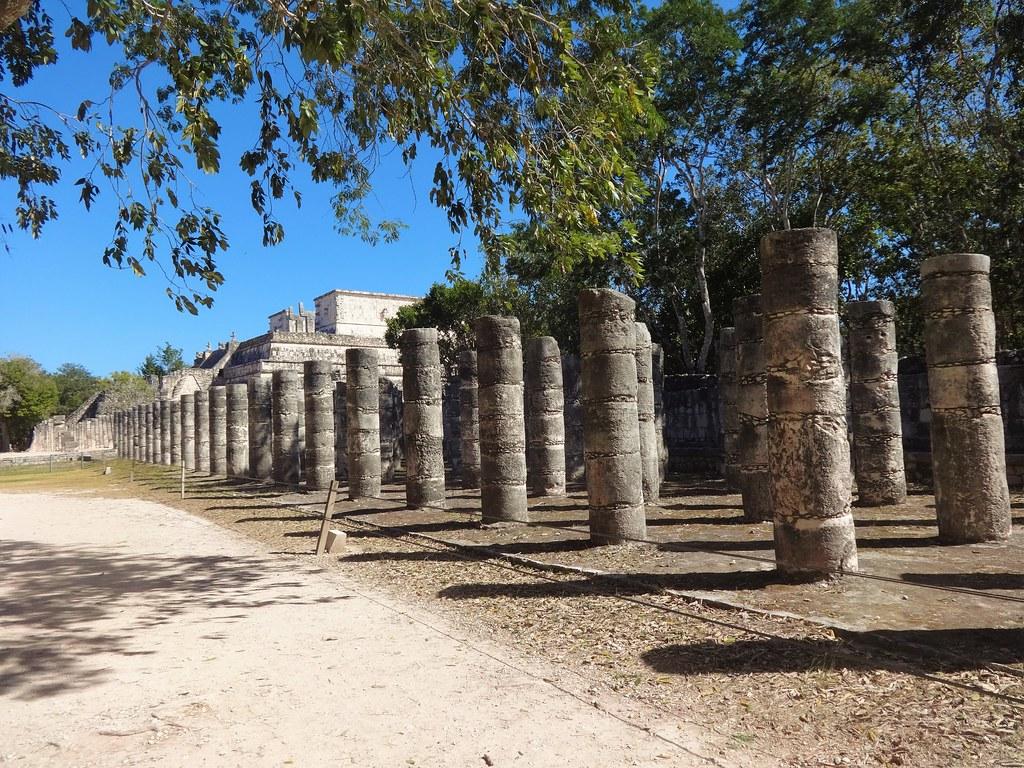 Świątynia Wojowników w Chichen Itza