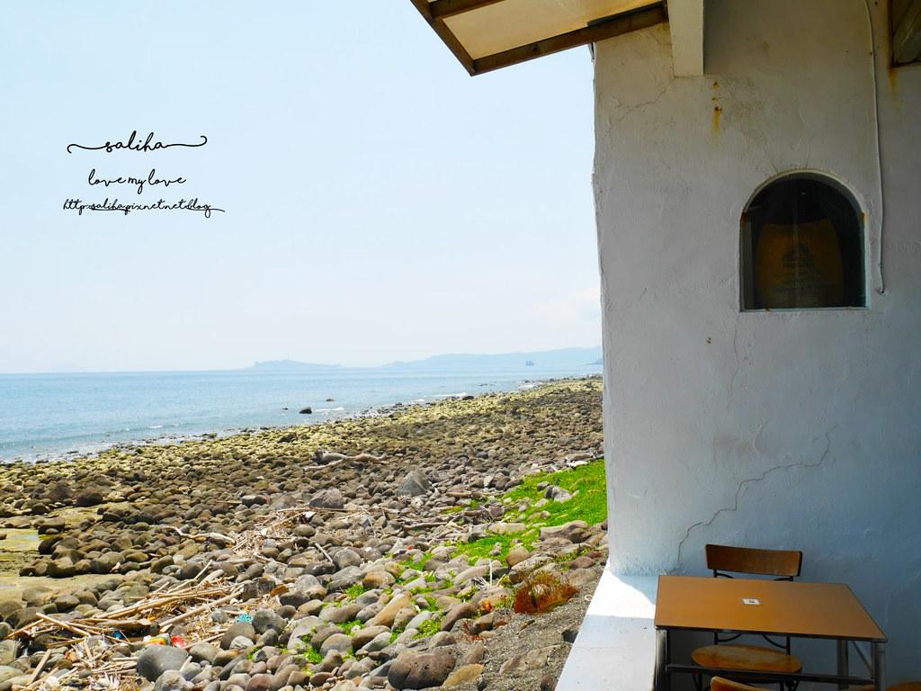 新北金山北海岸海景餐廳推薦洋荳子海邊咖啡館 (16)