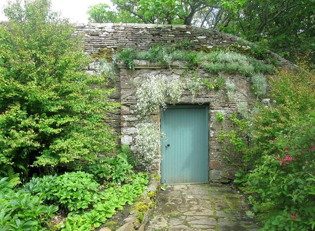 East Garden door