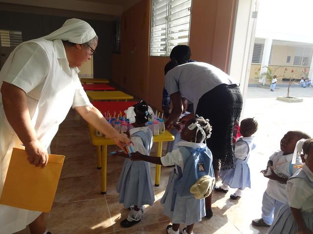 École Maternelle MARIE POUSSEPIN - Haití (55)