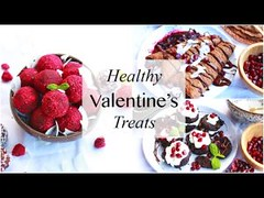 Healthy Valentines Day Treats! // DIY Gift Ideas & Meals to Impress