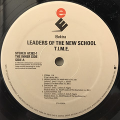 LEADERS OF THE NEW SCHOOL:T.I.M.E(LABEL SIDE-A)