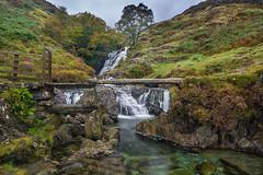 Slate bridge Afon Cwm Llan