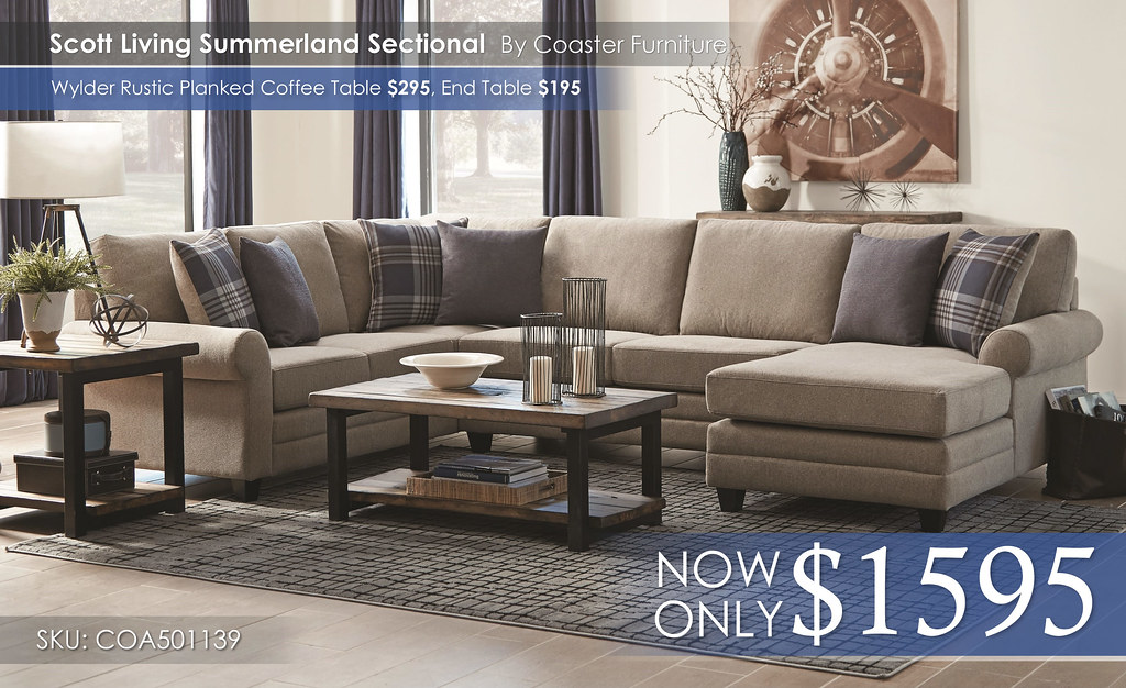 Scott Living Summeland Sectional by Coaster