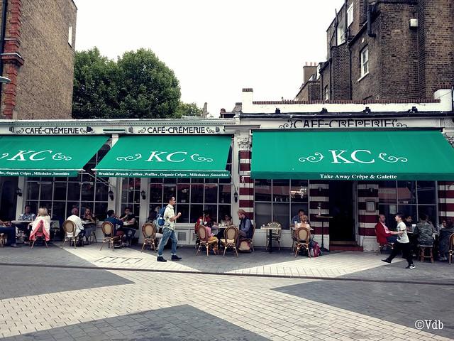 Londen, Kensington, citytrip, ontbijt, Kensington Creperie