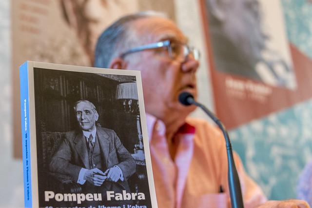 Acte sobre Pompeu Fabra