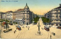 Bilbao_Gran Vía y H. Amezaga