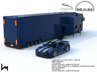 MAN TGX Euro 6 || Agents Style Mobile Headquarter