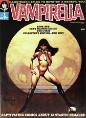 Vampirella #1 (Sept. 1969), Warren Pub. Cover Art by Frank Frazetta