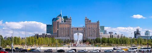 astana kazakhstan panorama