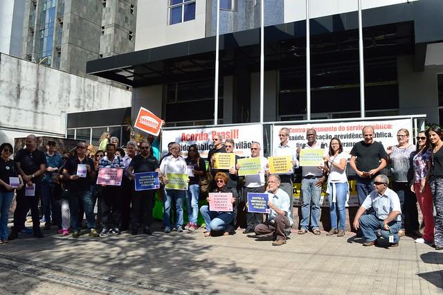 Dia Nacional da Mobilização Contra o Desmonte do Serviço Público