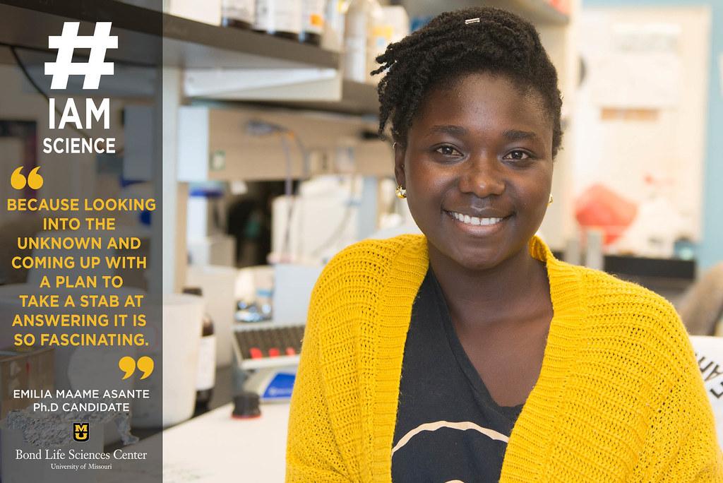 Emilia Asante #IAmScience
