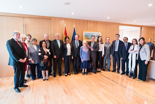 El secretario de Estado recibe a los miembros de la Comisión Internacional contra la Pena de Muerte