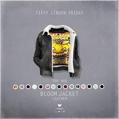 Bloom.Jacket Leather - FLF