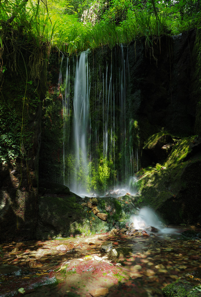 熊井の滝_パノラマ1-2