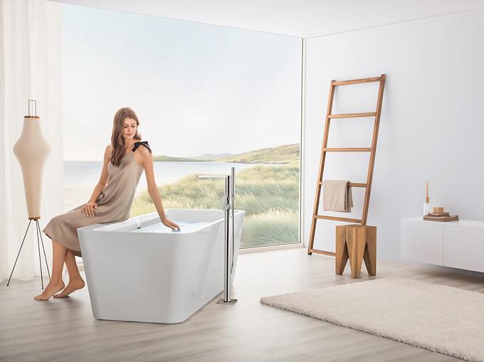 Bồn tắm đẹp mới mang lại trải nghiệm mới tốt hơn cho gia chủ. Nguồn ảnh: Boch.