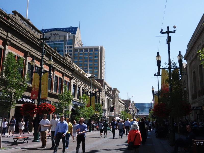 Stephen Ave Calgary