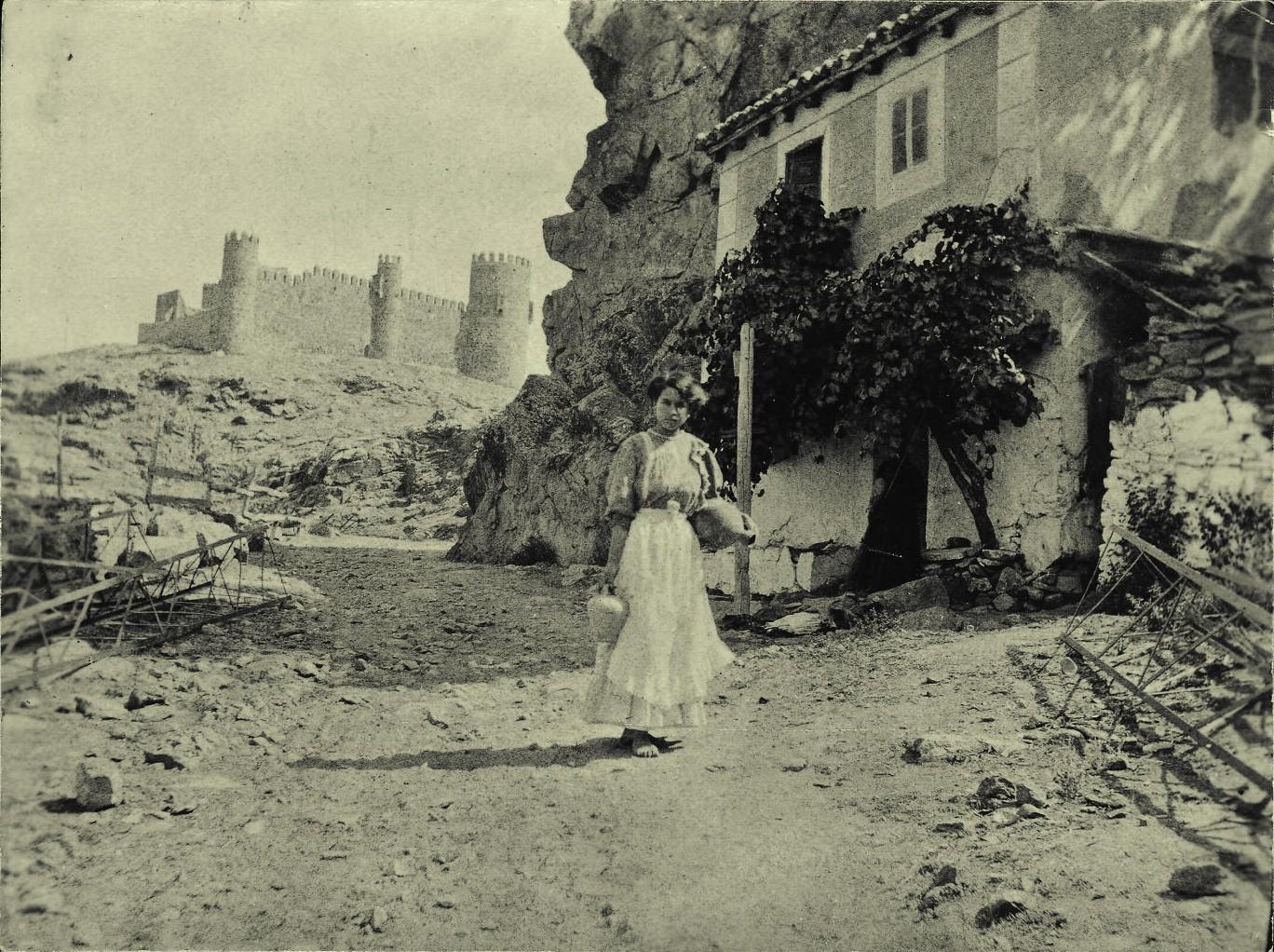 Parador del Macho hacia 1910. Foto de PEdro Román MArtínez, Diputación de Toledo (Centro de estudios Juan de Mariana)