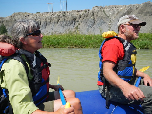Cody Rafting Linda and Tony