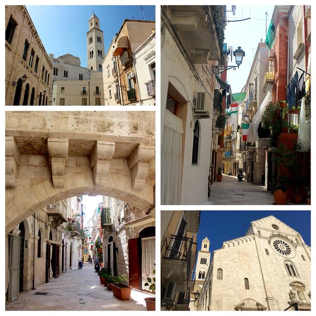 Puglia Bari Vecchia Collage