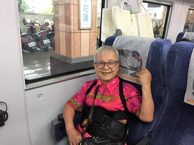 搭乘普悠瑪火車 (18)