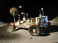 Houston Lunar Rover-Apollo 18