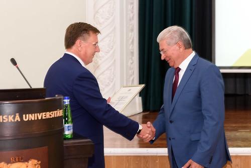 Ministru prezidents Māris Kučinskis piedalās 1.septembra svinīgajos pasākumos RTU