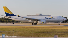 N300QT Airbus A330-200F TAMPA Cargo Miami airport KMIA 18.03-17