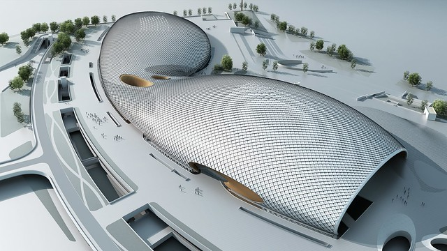 AI_04_A Collaborative BIM Process Reduces Design Time by 60% on the Olympic Stadium in Hangzhou (1)