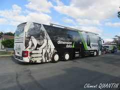 MAN Lion's Coach - Team DIMENSION DATA
