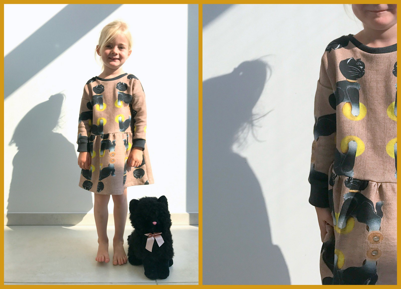 sien dress (collage)