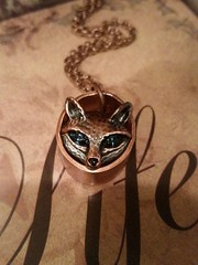 This Fox wears Upcycled! https://t.co/eCfg4sNrmK #fox #upcycledgifts #wildanimals #nature #copperjewelry #giftideas https://t.co/xrDoI69AYi