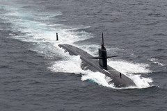 USS Key West (SSN 722) file photo. (U.S. Navy/MC1 Byron C. Linder)