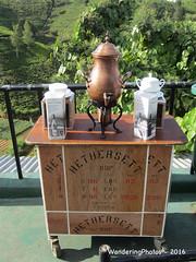 Already to serve tea on the patio - The Heritance Tea Factory Hotel - Nuwara Eliya Sri Lanka