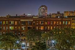 Midnight View in Harlem