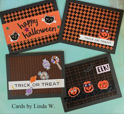 Halloween cards set 1