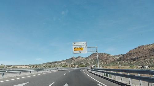 A44 - saída Campotéjar