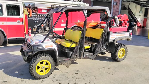 Hanceville Fire Department Rescue ATV 1