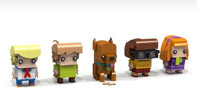 Brickheadz Scooby-Doo (black eyes)