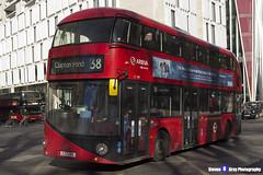 Wrightbus NRM NBFL - LTZ 1199 - LT199 - Clapton Pond 38 - Arriva - London 2017 - Steven Gray - IMG_6830