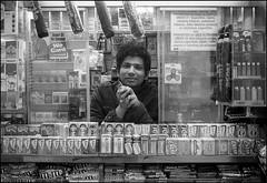 Kiosk Worker, Brooklyn, 2017.