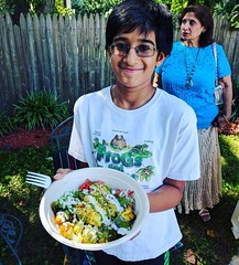 Anshul so happy to be tasting preview of @rasa #RasaRising food as they get ready to open